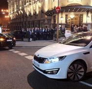 Conductor VIP evento KIA Madrid Fusion
